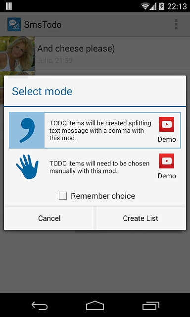 [APP][2.2+] SMS Todo: build todo lists from sms-device-2014-02-12-221451.png