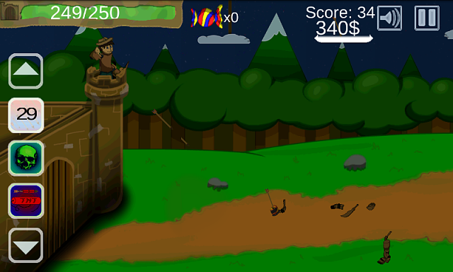 [FREE][GAME] Defend my Cardboard Kingdom-screenshot1.png