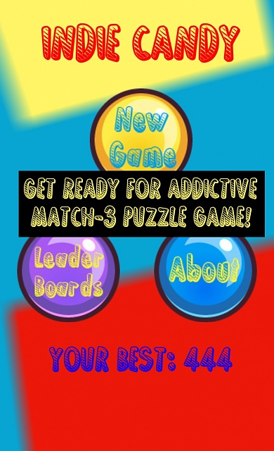 [FREE] Funny and very cute candy game - Indie Candy!-screen1.jpg