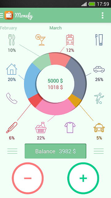 [App][4.0+] Monefy - Easy and Efficient Money Manager-screenshot_2014-03-08-17-59-29.png