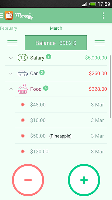 [App][4.0+] Monefy - Easy and Efficient Money Manager-screenshot_2014-03-08-17-59-57.png