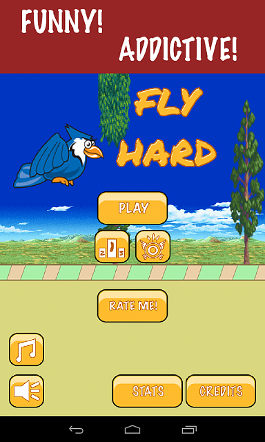 "[NEW FREE GAME] Tap insanely for the goodness! ""Fly Hard""-admenuscreenothersamsung.png"