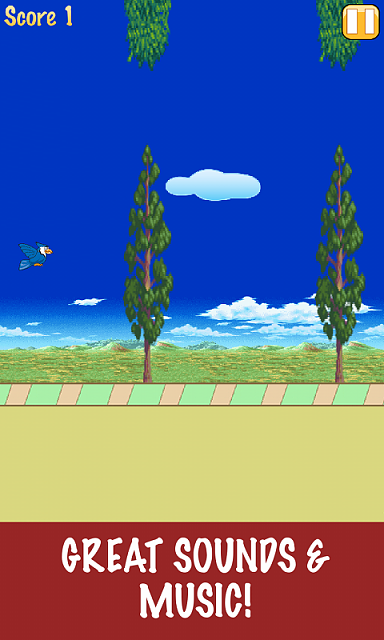 """[NEW FREE GAME] Tap insanely for the goodness! """"Fly Hard""""-adsoundssamsung.png"""