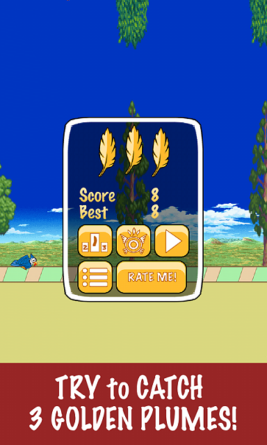 """[NEW FREE GAME] Tap insanely for the goodness! """"Fly Hard""""-adlostscreensamsung.png"""
