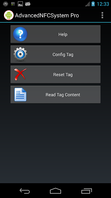 AdvancedNFCSystem The only NFC app that restores the phone status after the disconnection of the tag-main_page.png