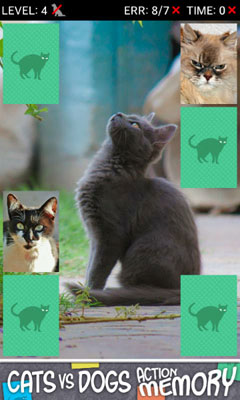 [FREE GAME APP] Action Memory games with dogs and cats-device2.jpg