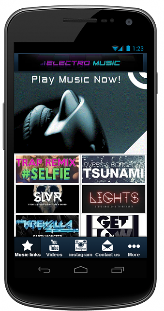 ★★All In One App- ElectroMusic★★ [Free][New Music App][5 Stars Rating]-1.png