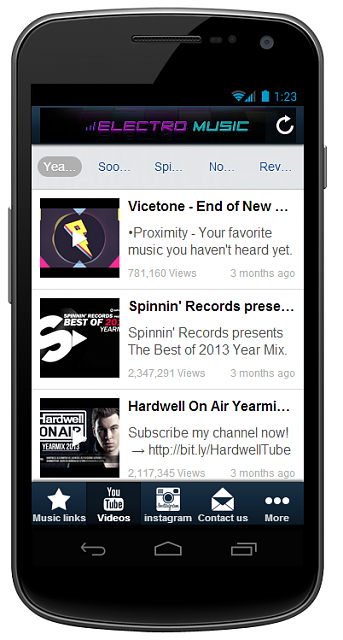 ★★All In One App- ElectroMusic★★ [Free][New Music App][5 Stars Rating]-2.png