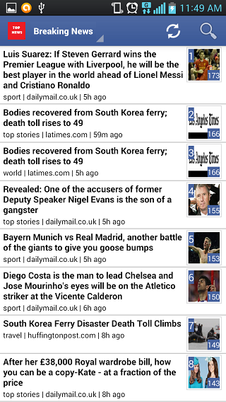 It is the best app for the daily reader:ranking latest news, breaking news-1.png