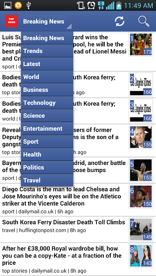It is the best app for the daily reader:ranking latest news, breaking news-2.png