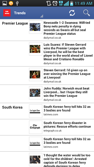 It is the best app for the daily reader:ranking latest news, breaking news-3.png
