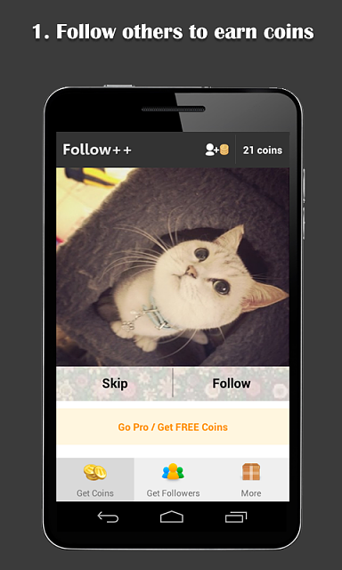 [APP][FREE] Follow++ (Get real Instagram followers)-ss0.png