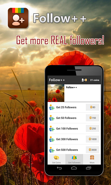 APP][FREE] Follow++ (Get real Instagram followers) - Android