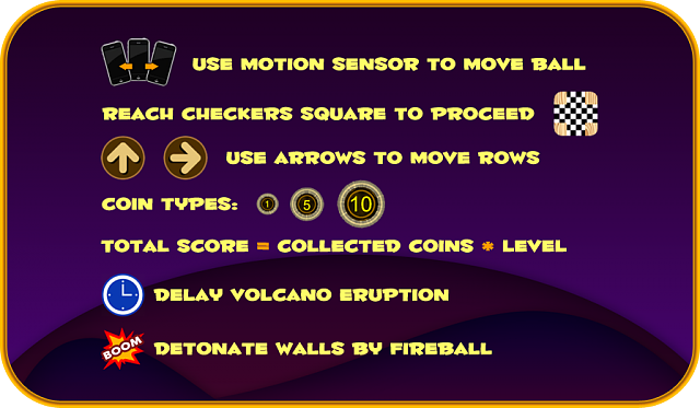'VOLCANO ATTACK'  -  You will never ever pass 30 levels-tut1.png