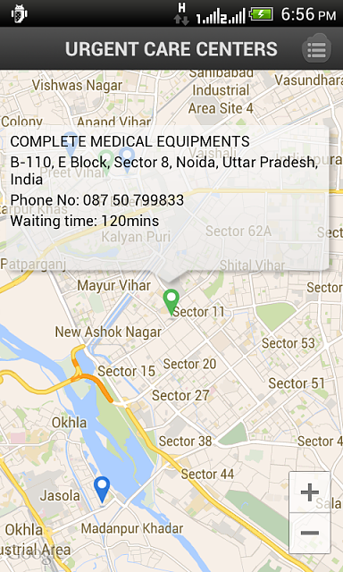 Urgent Health Care Center - Doctor Near You (Free App)-device-2014-05-09-185616.png