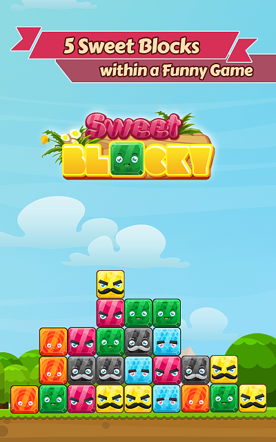 [Free Game] Sweet Blocky, game super hot, addicted game with lovely design-01.png