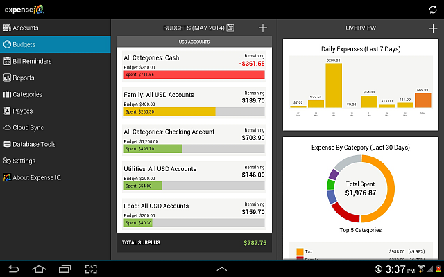 [APP] Expense IQ - Manage your personal finance smartly and easily-budgets.png