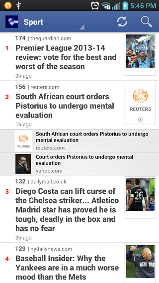 It is the best app for the daily reader:ranking latest news, breaking news-4.png
