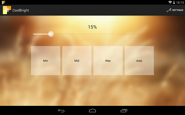 [FREE] CoolBright - Brightness Level - quick access to your brightness levels-scr_nexus7_2.png