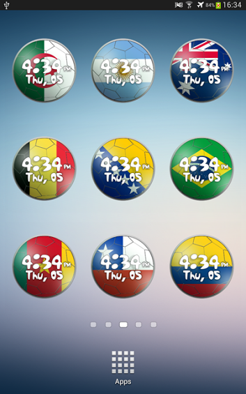 [FREE] World Cup 2014 Clock Widget-1.png