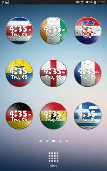 [FREE] World Cup 2014 Clock Widget-2.png