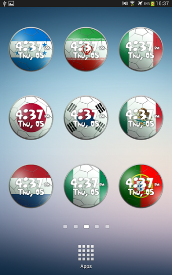 [FREE] World Cup 2014 Clock Widget-3.png
