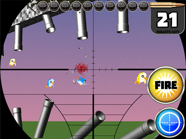 FLAPPY SNIPER 3D - Hunt Silly Birds With Serious Sniper Rifle.-ipad_02.png