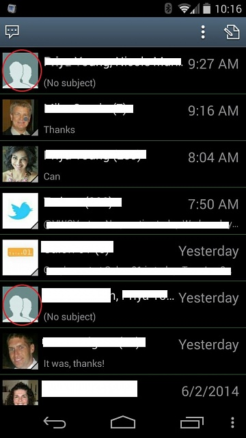 how to delete multiple contacts on android