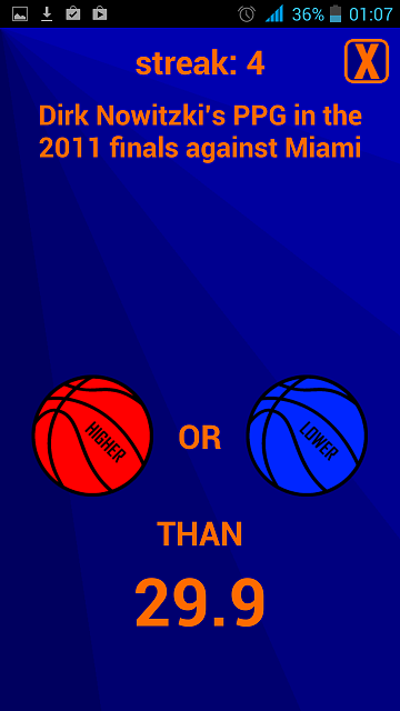 [Free][Android]Higher or Lower: Basketball [Game]-screenshot_2014-07-11-01-07-20.png