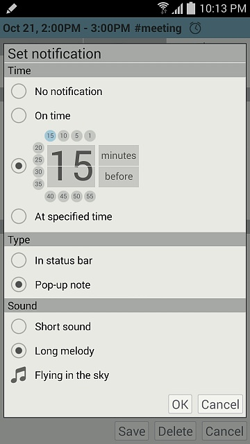 Penocle - New calendar/notepad/organizer application for Galaxy Note devices-promo_set_notification_4.1.2.jpg