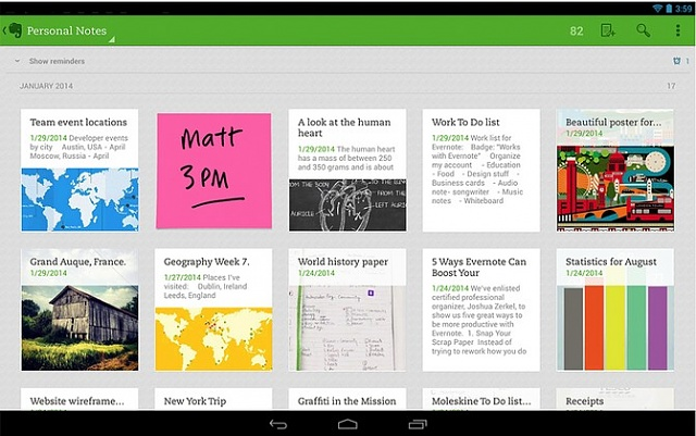 The 5 Best Free Quick Note Taking Apps for office girl in Google Play-evernote.jpg