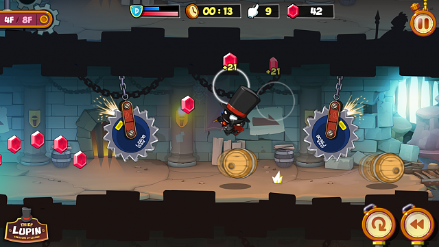 [FREE GAME] Thief Lupin 2 - On Android Now!-ingame-screenshot-1.png