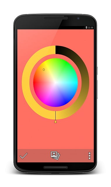 [APP][FREE] Solid color wallpapers - Be a simple man ...