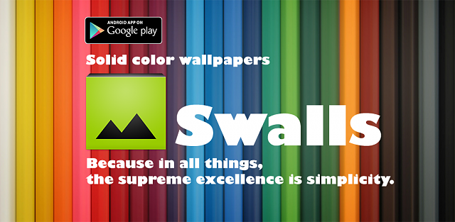 [APP][FREE] Solid color wallpapers - Be a simple man-swallspromo.png