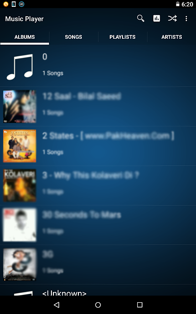 Axif Music Player - Screenshots are intentionally blurred-screenshot-1.png