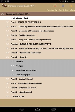 [App][FREE] The Consumer Credit Act 1974  - UK-cca1974_i.png
