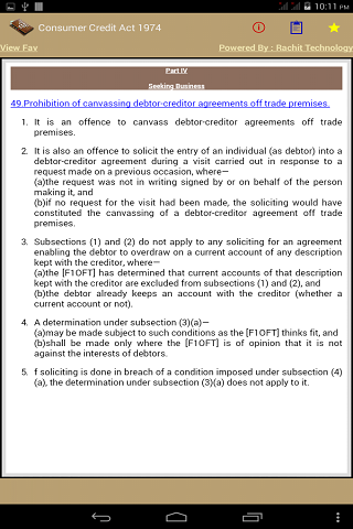 [App][FREE] The Consumer Credit Act 1974  - UK-cca1974_ii.png