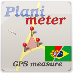 [PAID APP][POST FROM DEVELOPER] Planimeter - area measure. All kinds of measurements on Google Maps.-plm_ico_256_br.png