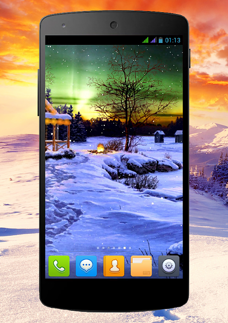 [FREE][2.3+] Winter Holiday-snow_phone_1_6.png