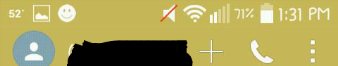 what is this smiley face notificatiin icon on the phone from