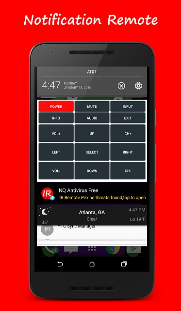 Controlling your TV, Cable Box, Game Console, Chromecast, and Roku from one app?-notificationremote.jpg
