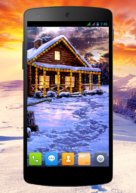 [FREE][2.3+] Winter Holiday-snow_phone_1_13.png