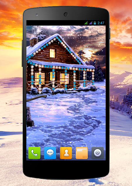 [FREE][2.3+] Winter Holiday-snow_phone_1_14.png