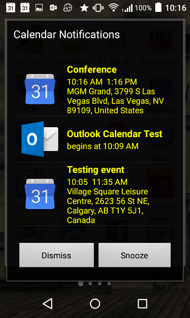 [FREE with IAP] Calendar Notification.  Never miss appointment again-screenshot_2016-03-09-10-16-33.png
