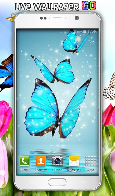 [FREE] Butterfly Live Wallpaper