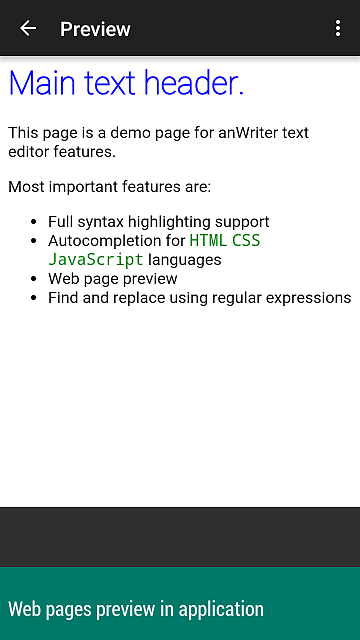 [APP][4.0+] anWriter text editor for web programmers-screen5_5.png