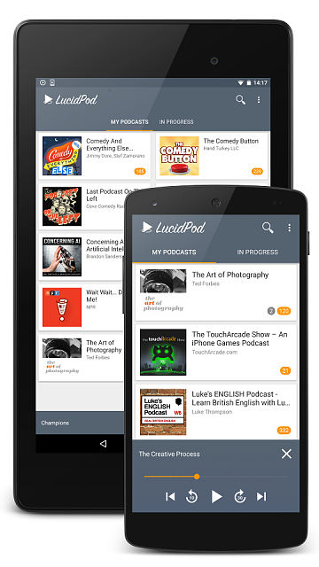 [APP] LucidPod - the most lightweight podcast player with iTunes search-play_store_front_shreen_small.png