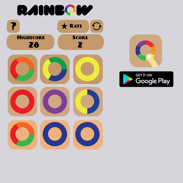[Game][Free] Rainbow Slide - New Puzzle game-instagram-post.png