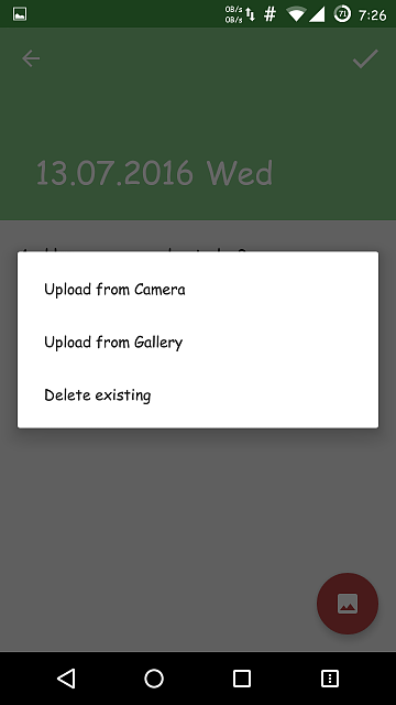 [App] [4.0.2+] Memories - Simple and free diary with a password lock.-screenshot_2016-07-13-19-26-37.png