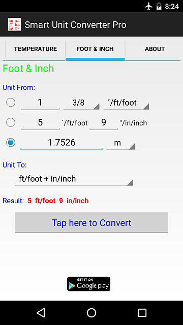 [App] Promotion Code for free - Nice utility: Accurate & Pure enough (not only Ad-free....)-android-app-4.png